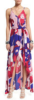 Karina Grimaldi Egypt Floral-Print Sleeveless Maxi Dress, Toscana