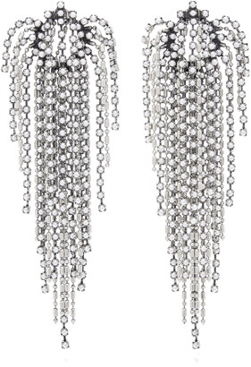 Dannijo Julia Pearl Waterfall Earrings