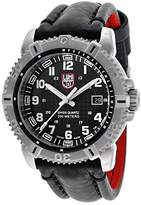 Luminox Men's Modern Mariner Black Dial Black Genuine Leather