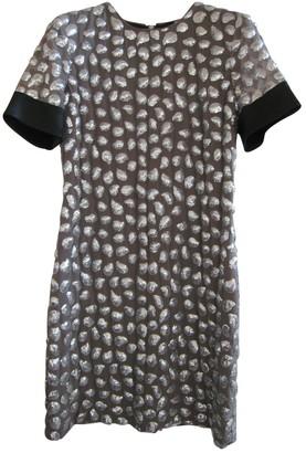 Diane von Furstenberg Metallic Silk Dresses