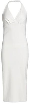 Chiara Boni La Petite Robe Valorie Halter Sheath Cocktail Dress