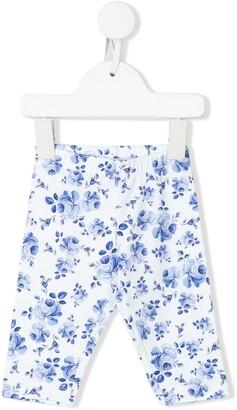 MonnaLisa Floral-Print Leggings