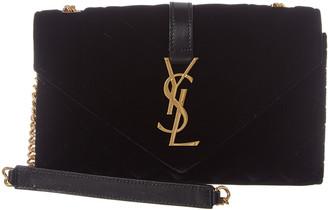 Saint Laurent Quilted Leather Shoulder Bag