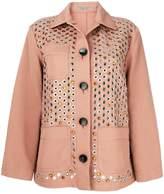 Bottega Veneta embellished jacket