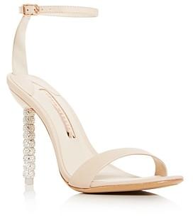 Sophia Webster Women's Haley Crystal-Embellished High-Heel Sandals