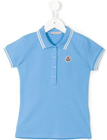 Moncler classic polo shirt - kids - Cotton/Spandex/Elastane - 12 yrs