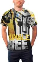 Transformers T Shirt Bumble Bee Allover Printed new Official Mens sub dye