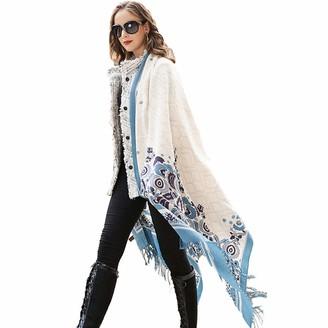 DANA XU Wool Women Large Scarf Pashmina Shawls and Wraps Shawl - - Large
