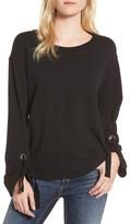Splendid Women's Madison Avenue Grommet Sweatshirt