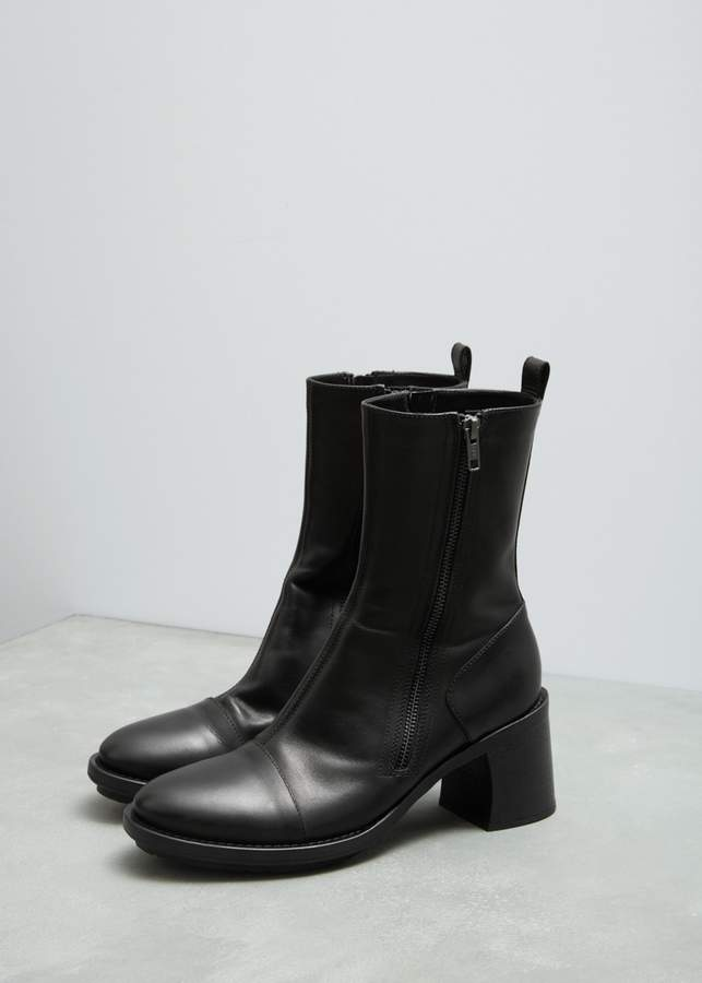 Ann Demeulemeester Leather Boots