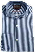 Black Brown 1826 Striped Dress Shirt