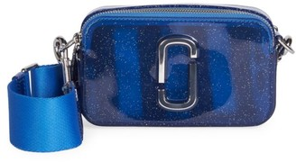 Marc Jacobs The Snapshot Jelly Glitter Camera Bag