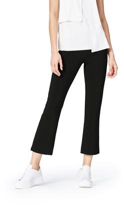 Find. Women's Flare Trousers in Crop Cut with Side Zip