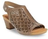 Josef Seibel Women's Ruth 33 Cutout Slingback Sandal