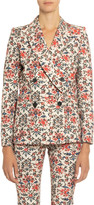 Isabel Marant Floral Print Cotton Blazer
