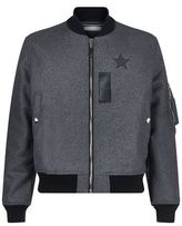 Givenchy Wool Flannel Bomber Jacket