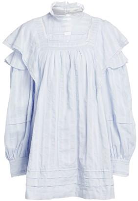 Etoile Isabel Marant Patsy Ruffle Lace Baby Doll Dress