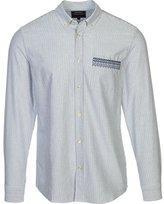Wesc Men's Magali Long Sleeve Slim Fit Shirt