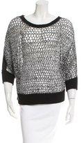 Tess Giberson Crochet Mesh Sweater w/ Tags