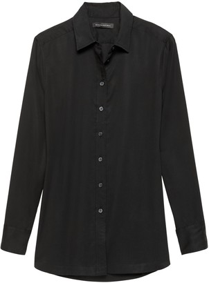 Banana Republic Parker Tunic-Fit Shirt