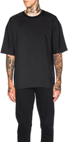 Lanvin Fluid Wool Drop Shoulder Tee