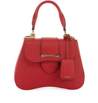 Prada Small Sidonie Top-Handle Tote Bag