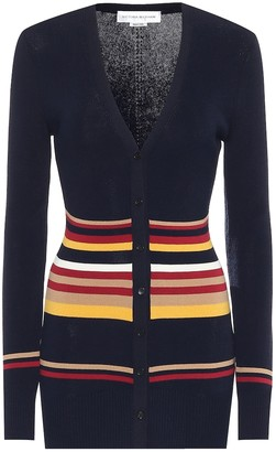 Victoria Beckham Cotton-blend cardigan