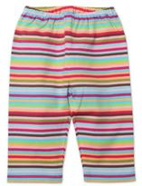 Zutano Size 3M Pull-On Multi-Stripe Pant in Red/Brown/Blue