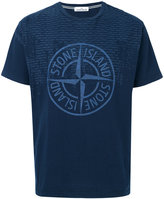 Stone Island central logo T-shirt - men - Cotton - S