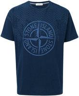 Stone Island central logo T-shirt