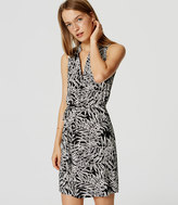 LOFT Petite Fern Sleeveless Shirtdress