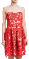 Lush Red Lace Dress