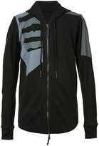 11 By Boris Bidjan Saberi Dazzle hooded sweatshirt