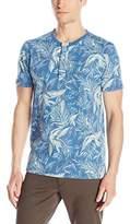 Lucky Brand Men's Floral-Print Henley T-Shirt