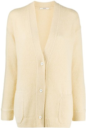 Odeeh V-Neck Button-Up Cardigan