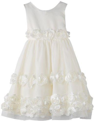 Bonnie Jean Girls 2-6X Bonaz Trim Dress
