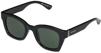 Von Zipper VonZipper Gabba (Black Gloss/Vintage Grey) Fashion Sunglasses