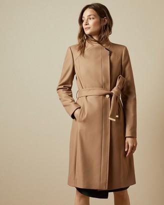 Ted Baker ELLGENC Long belted wrap coat