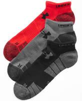 Under Armour Men's 3 Pack HeatGear® No-Show Socks