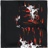 Our Legacy mustang print scarf