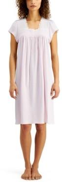 Miss Elaine Plus Size Short Nightgown