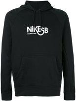 Nike SB logo print hoody - men - Cotton/Polyester - S