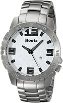 Roots Men's 1R-LF600WH0 South Tea Analog Display Japanese Quartz Silver Watch