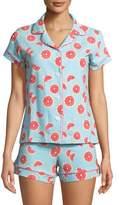 BedHead Grapefruit Shortie Pajama Set