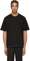 Wooyoungmi Black Side Snap T-shirt