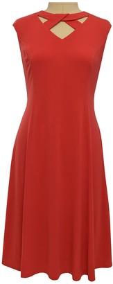 London Times Keyhole Fit & Flare Dress (Plus Size)