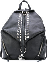 Rebecca Minkoff stitching detailing backpack - women - Calf Leather - One Size