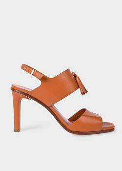Paul Smith Women's Tan Leather 'Quince' Sandals