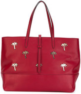 Tomas Maier Granda Palms tote bag - women - Leather - One Size