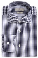 Canali Men's Regular Fit Check Dress Shirt